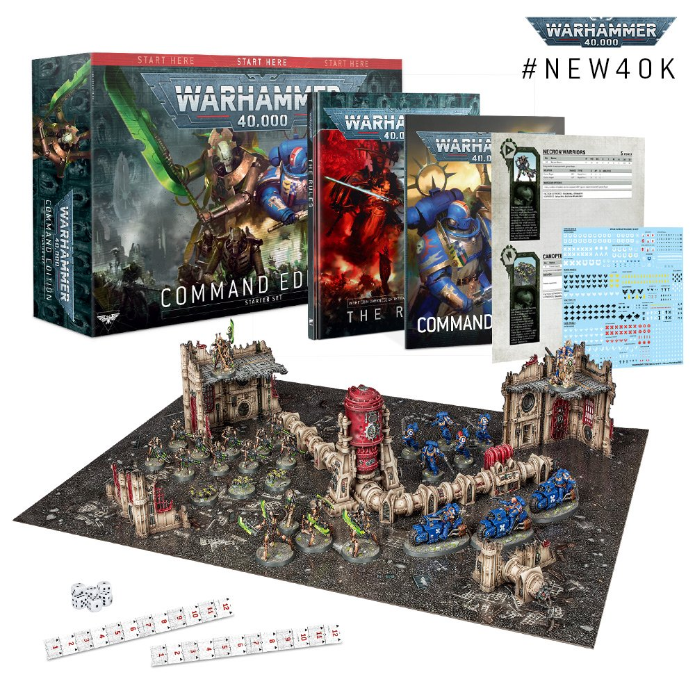 The Command Edition of the Warhammer 40K Starter Set - The all in starter kit for Warhammer 40,000