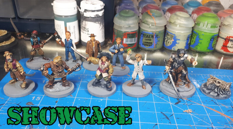 Dave Lamers Paint Table - Miniature Showcase - Work in Progress