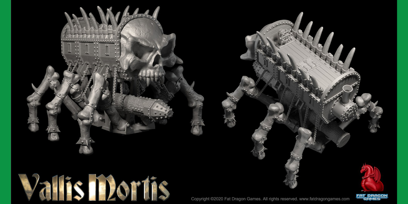 Vallis Mortis – Fat Dragon Games Kickstarter