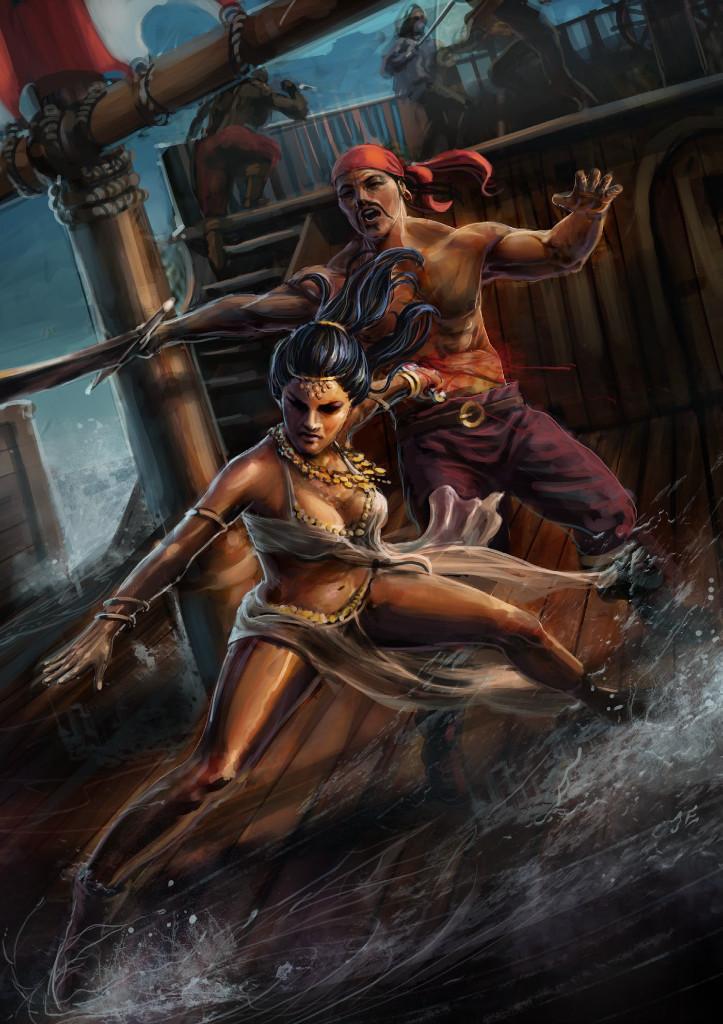 A female pirate