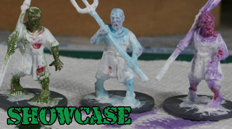 Living Dead Peasants by Fireforge Games - 28mm Miniatures