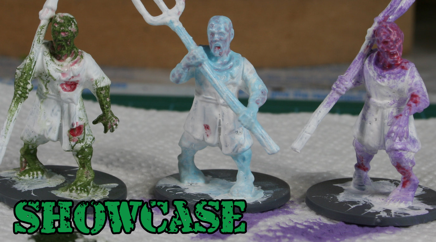 Living Dead Peasants WIP – Step by Step