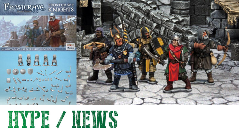 Frostgrave Plastic Knights Miniatures Preview