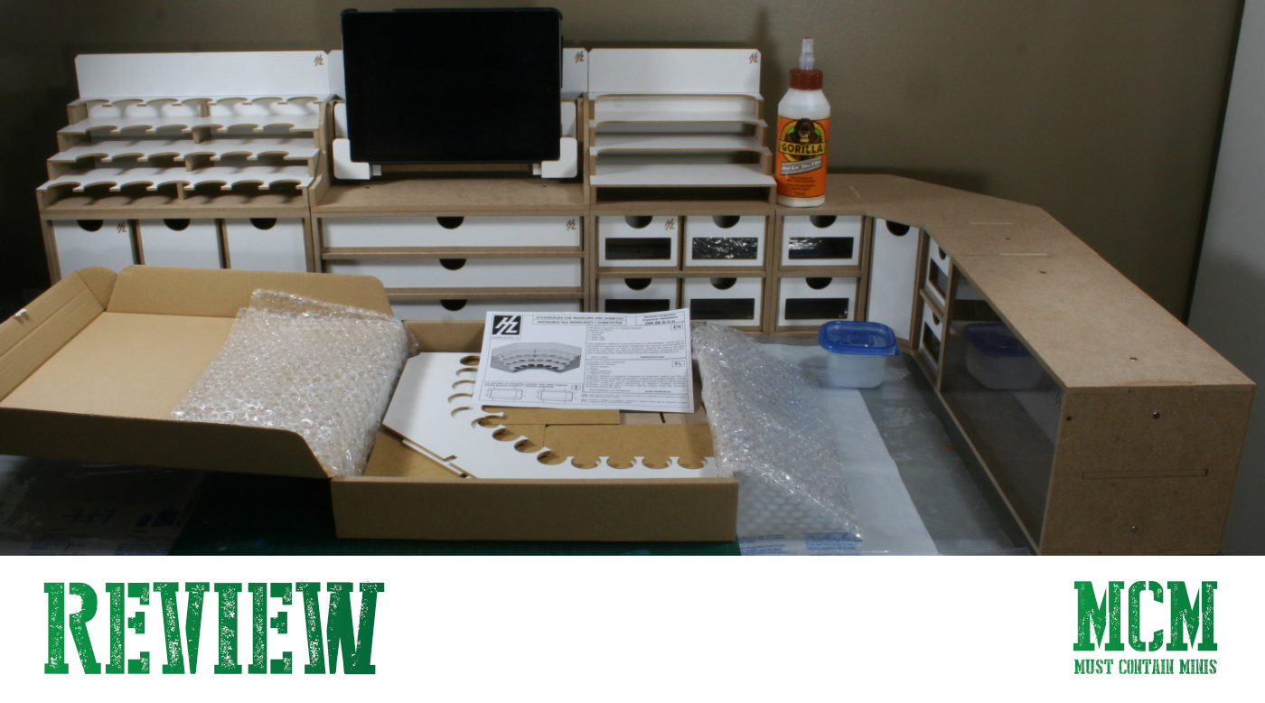 Reviewing my HobbyZone Workstation (Modular Workshop Station) for Miniature painting