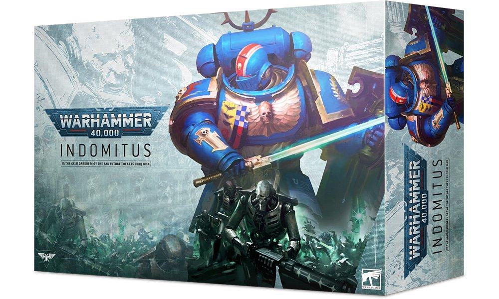 The Box Art of the new 40K starter set for Warhammer