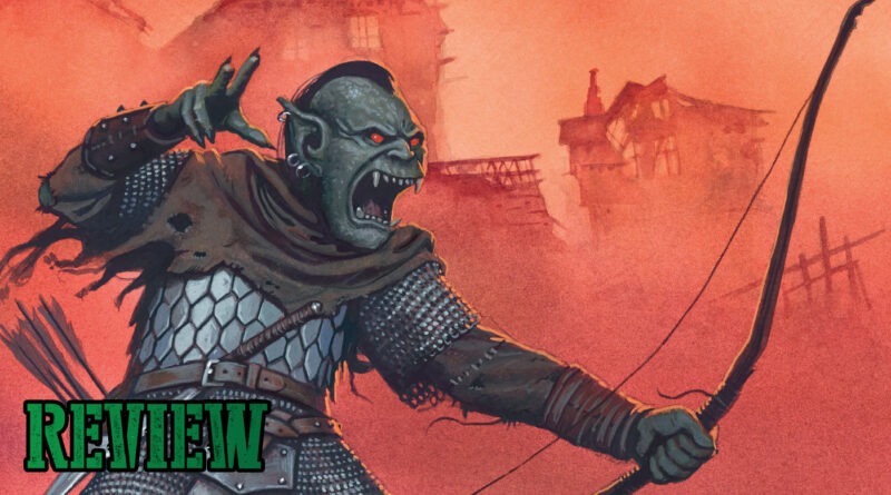Oathmark Review of the fantasy mass combat miniatures game by Osprey Games
