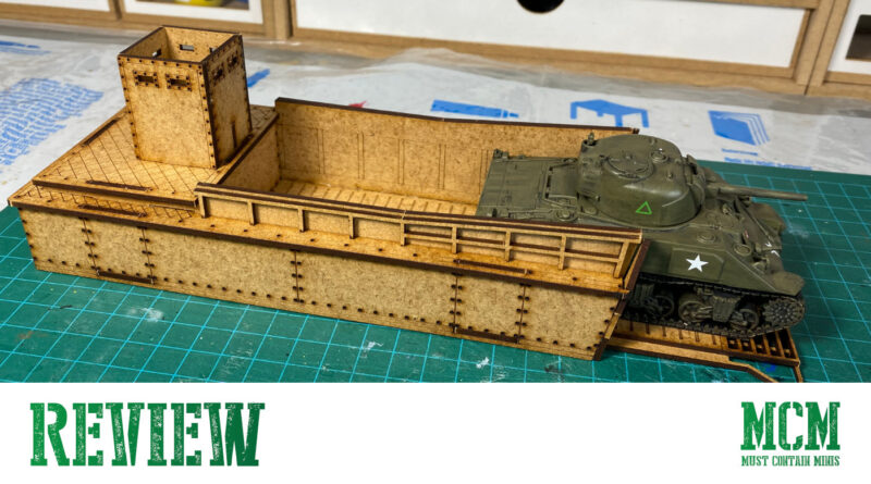 Review of a Landing Craft by Sarissa Precision for Warlord Games' Bolt Action - 28mm WW2