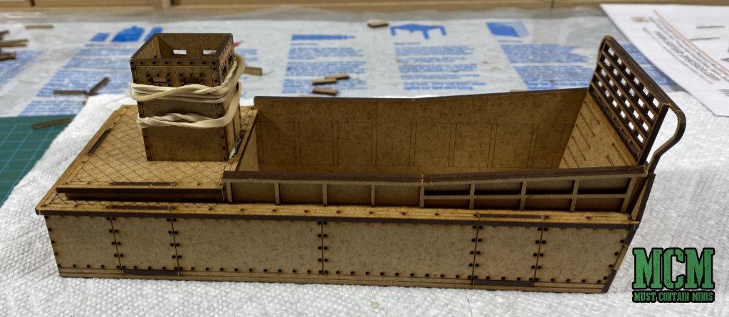 Building my WW2 Landing Craft