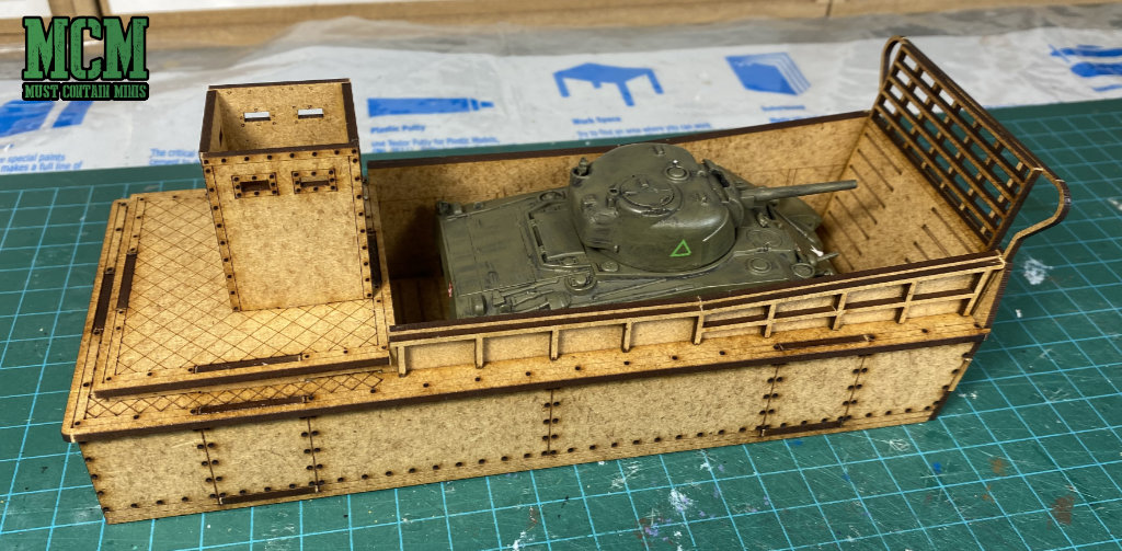 Review of the Sarissa Precision LCM (Landing Craft Mechanized) for Bolt Action