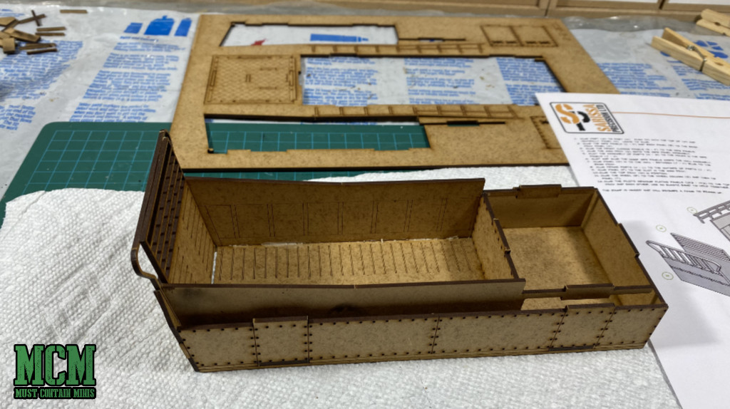 Building an MDF model - and making mistakes