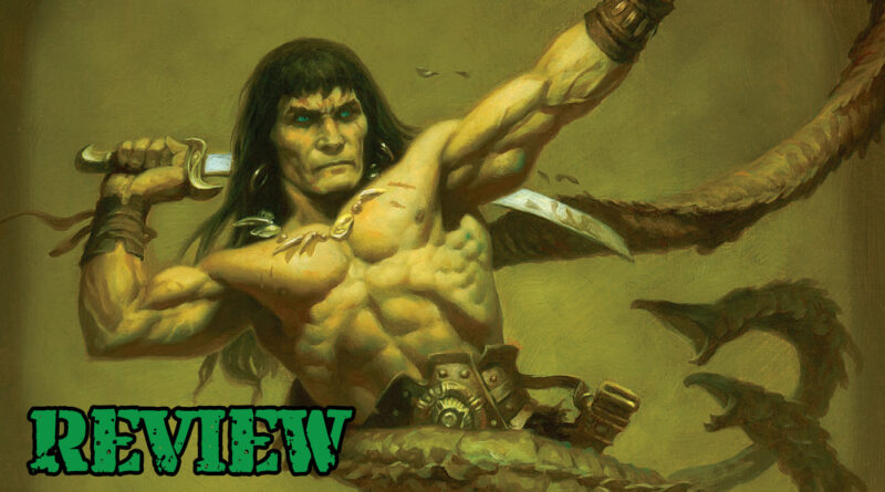 Review of the Art of Conan by Modiphius Entertainment