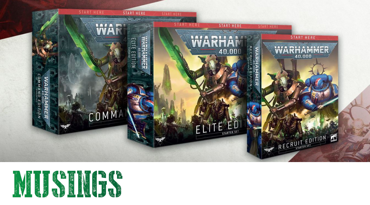 New Warhammer 40000 Starter Sets for 9th Edition