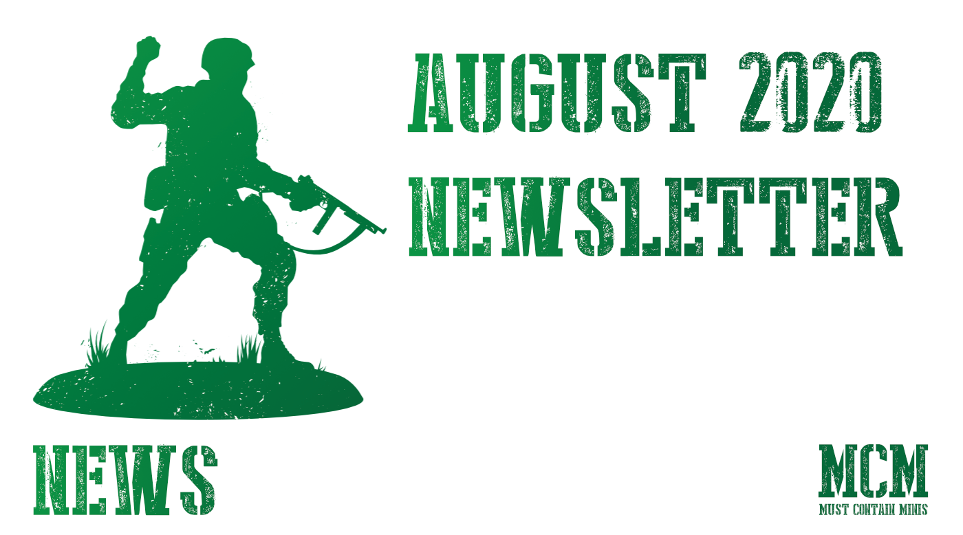August – Must Contain Minis Newsletter