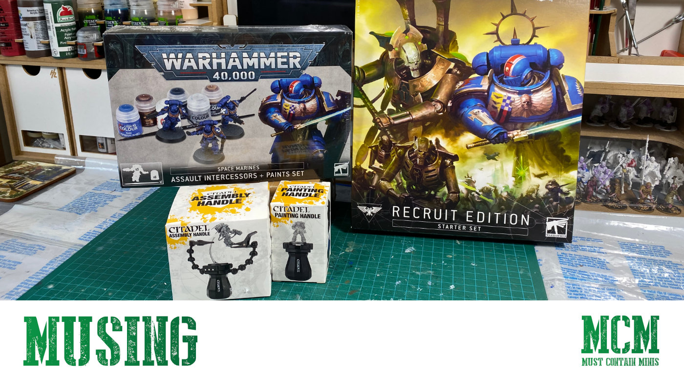Buying into the new Warhammer 40K - My adventure into the new Warhammer 40000