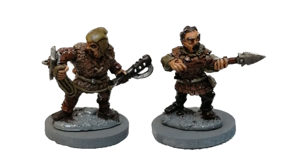 Reaper Miniatures Derro minis paited up for this Frostgrave showcase.