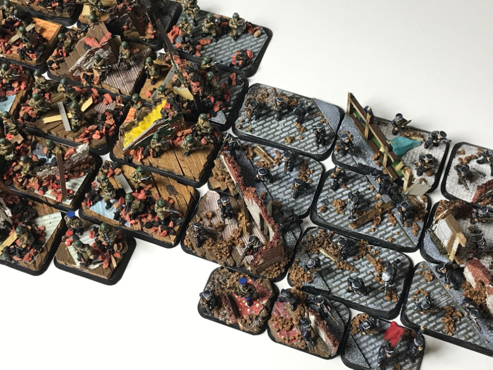 Basing an entire Flames of War army as a diorama