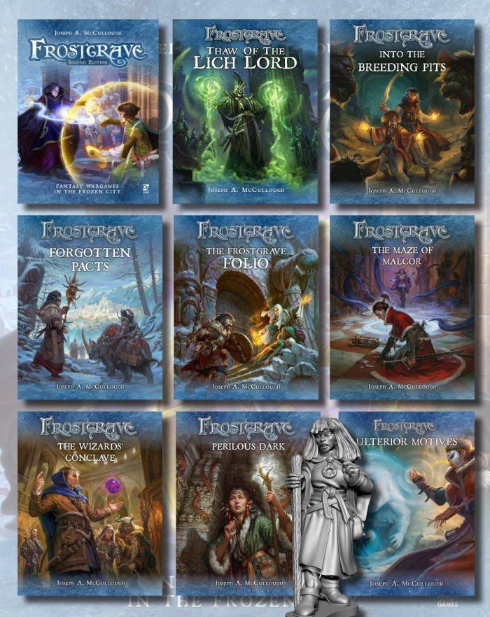Frostgrave Pre-Orders Book Collection / Bundle of all the books