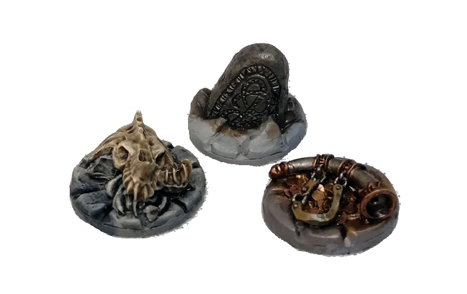 Objective Markers by North Star Military Figures - Frostgrave showcase