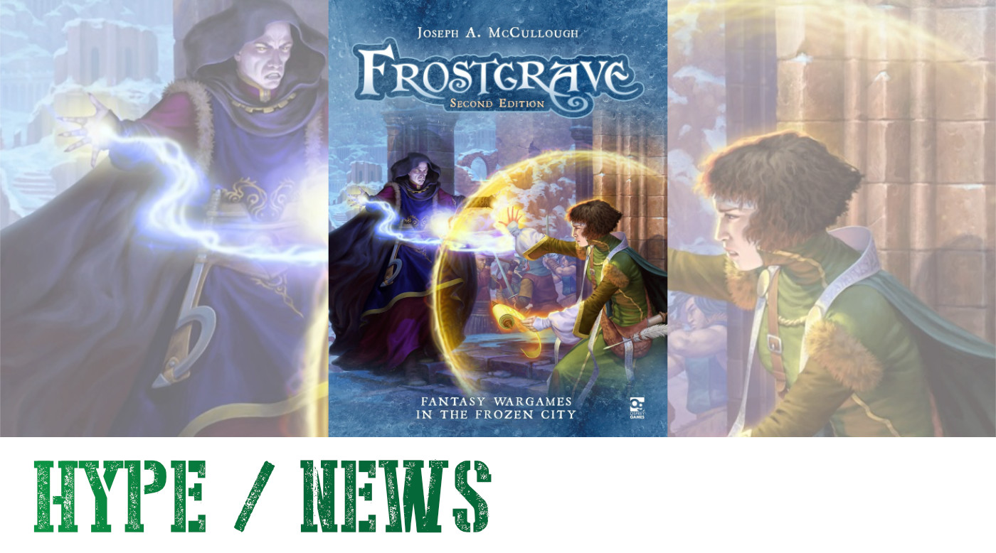 Frostgrave Pre-Orders for Second Edition
