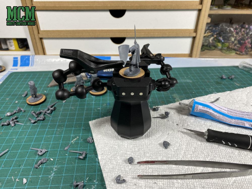 Building Plastic Minaitures - Oathmark Elf Light Infantry