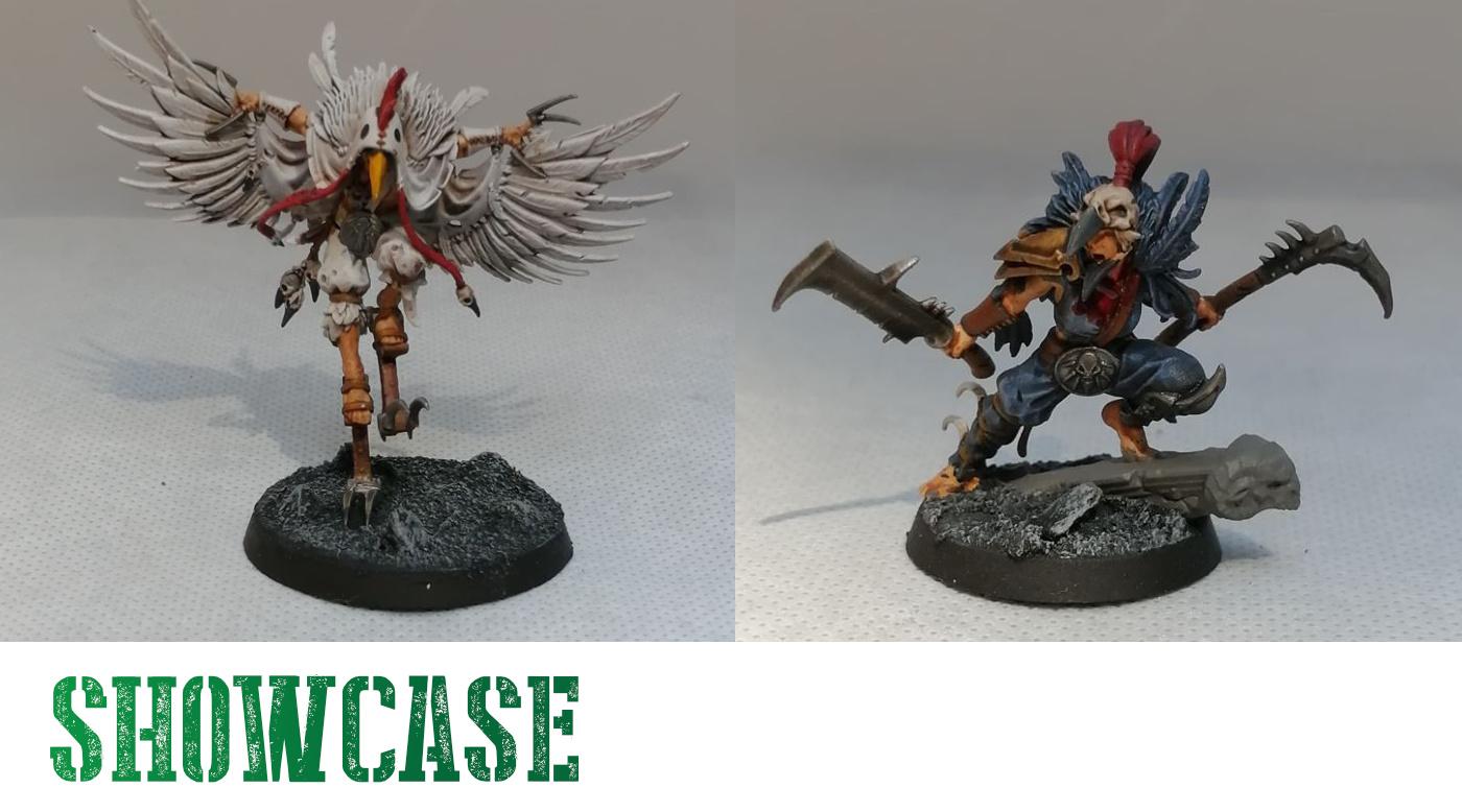 Painted Corvus Cabal Miniatures Showcase