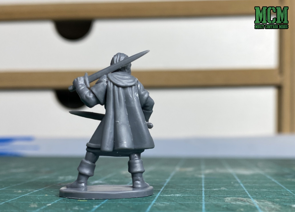 Oathmark Elf Ranger with two swords - made from the Elf Light Infantry Plastic Boxed set by Osprey Games and North Star Military Figures