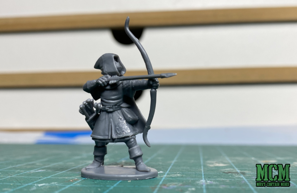 An Plastic Elf Archer in 28mm