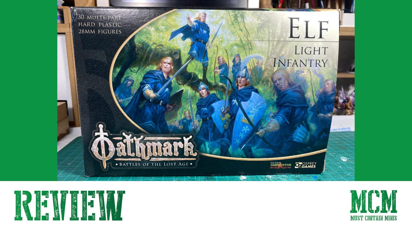 Oathmark Review of Elf Light Infantry