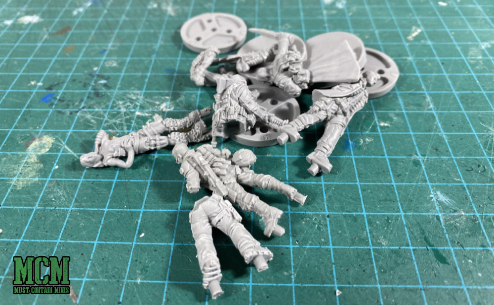 Cyberpunk Red Miniatures Review - Team Monster Set