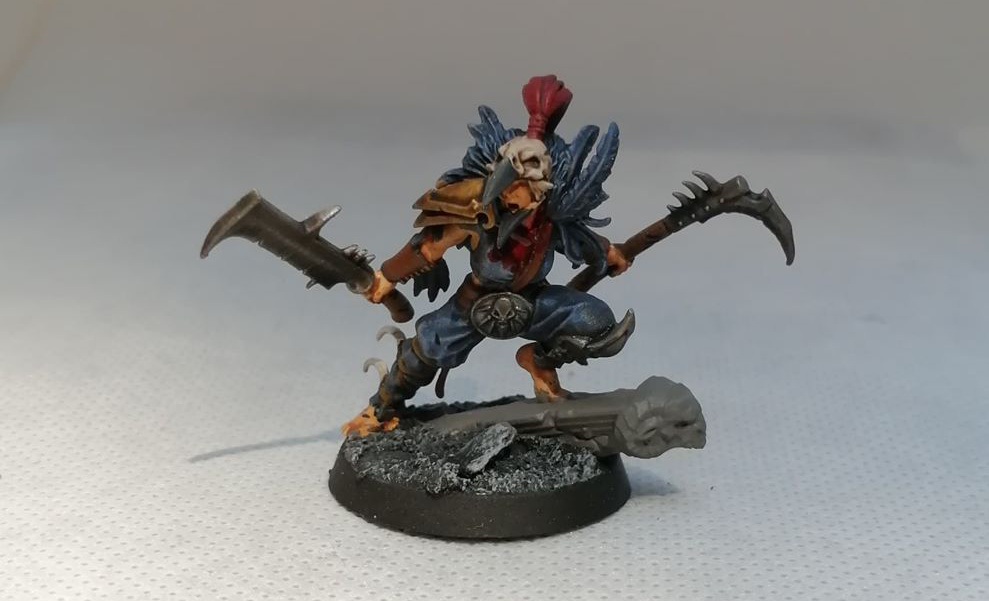 Painted Corvus Cabal miniatures Showcase - Games Workshop - Warcry - Painted by Dave Lamers