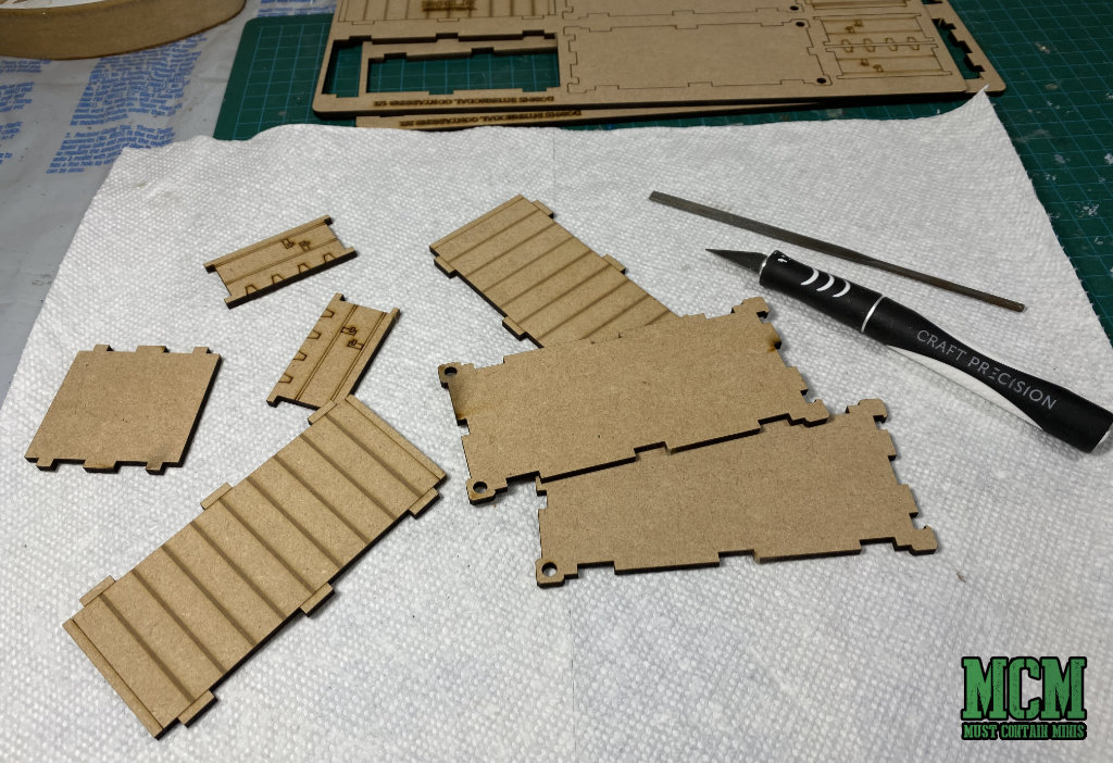 Building MDF Terrain for modern skirmish games