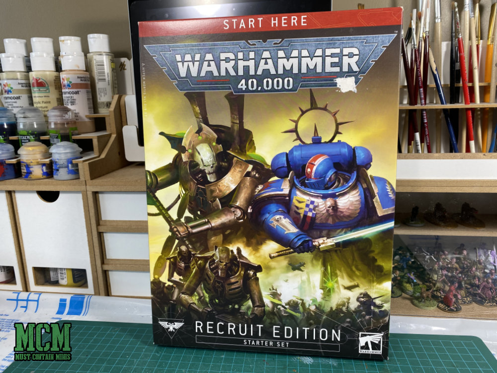 Buying into the new 40K - Warhammer 40000 Recruit Edition Starter Set