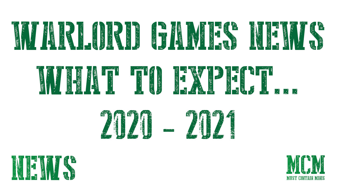 News from Warlord Games