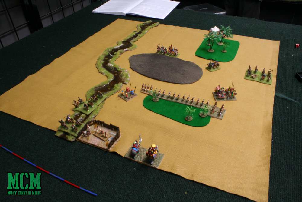 Phoenix Games and Hobbies - DBA Battle Report - Kitchener, Ontario, Canada
