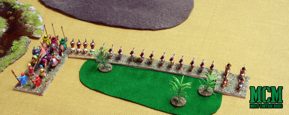 DBA Battle Report - Medieval Hindu Army