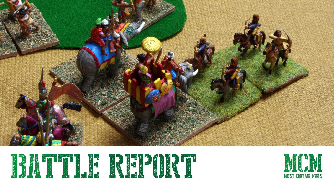 DBA Battle Report – Medieval Hindu vs Turkish Army