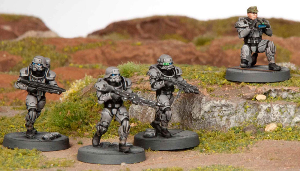 28mm generic Sci-Fi miniatures