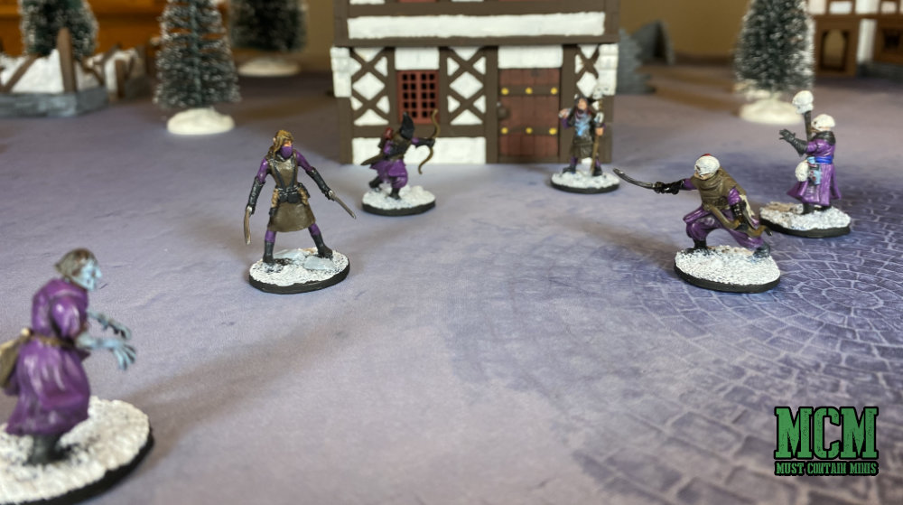 Game Mat Review - Winter Town for Frostgrave - Terrain Review