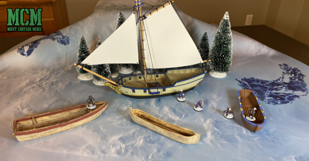 Blood & Plunder Ships in Frostgrave - Terrain Review