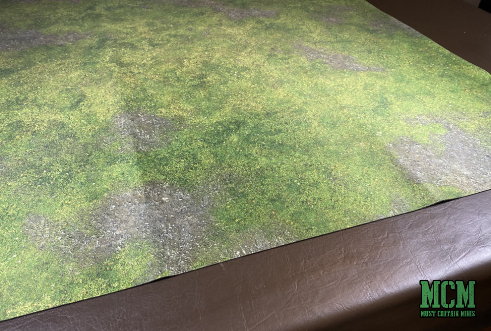 Monster Scenery Game Mat Review -  Grasslands side