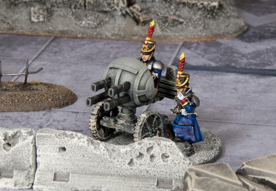 Grognard Heavy Weapons - Quad Lasers