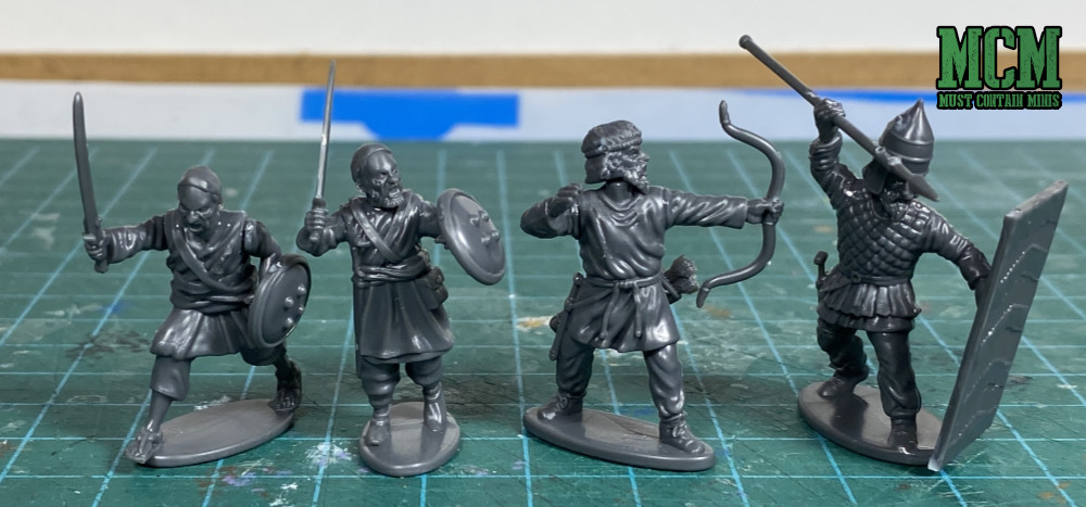 Scale Comparison - Wargames Atlantic Afghan Warriors to Persian infantry