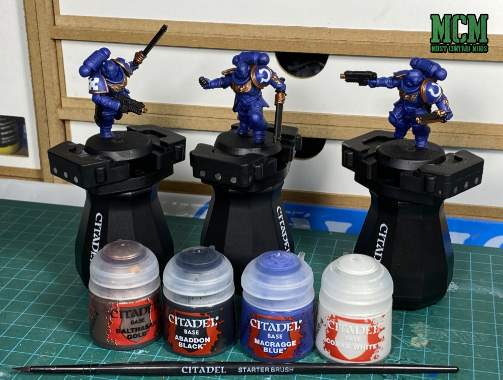 How to paint space marines - Base Coating Assault Intercessors