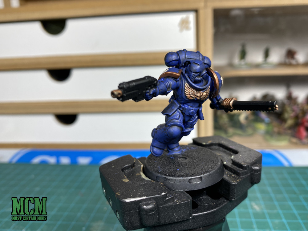Painted Assault Intercessor by Games Workshop