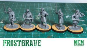 Using Oathmark Elf Light Infantry in Frostgrave