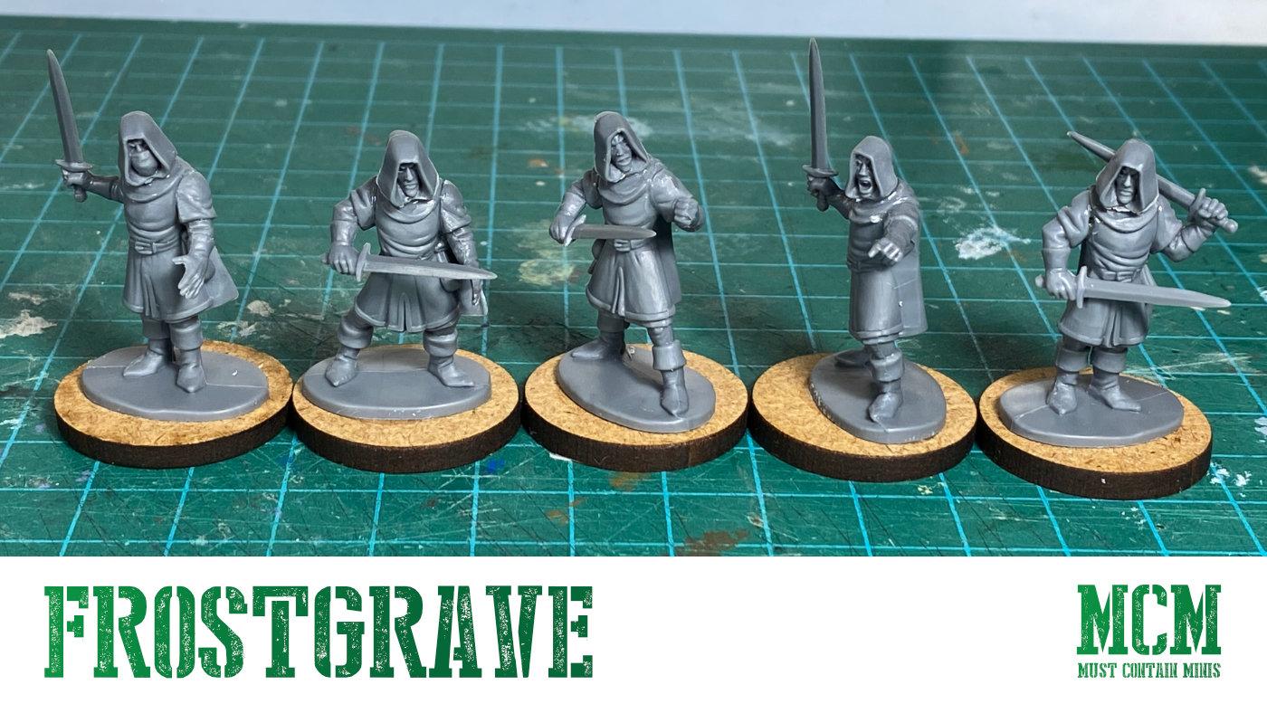 Using Oathmark Elf Light Infantry in Frostgrave