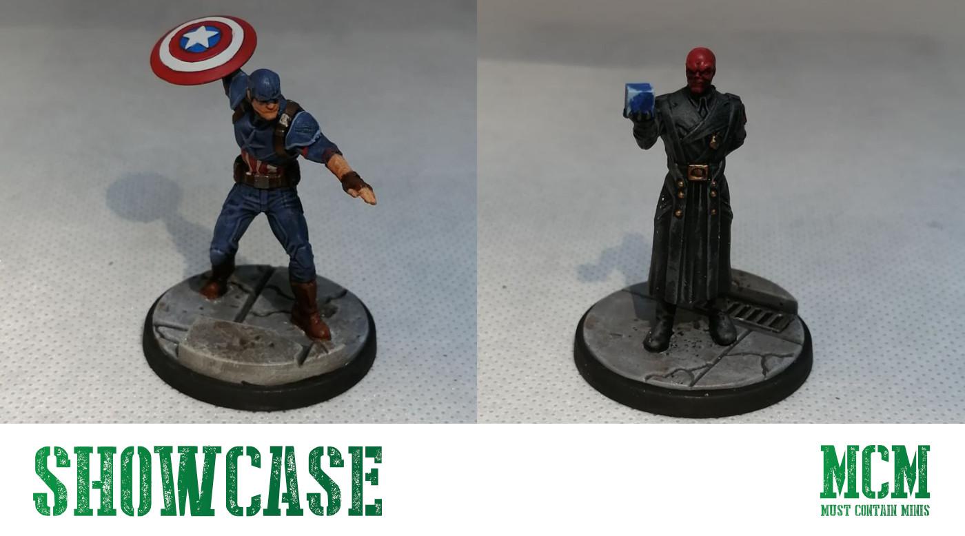 Marvel Crisis Protocol Painted Miniatures Showcase