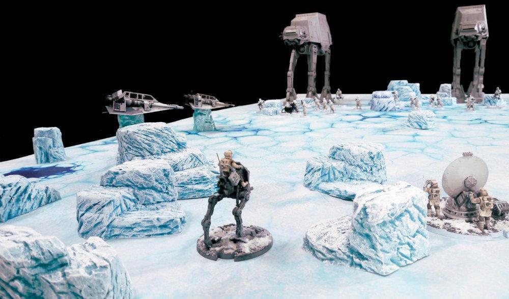 Star Wars Legion Hoth Terrain