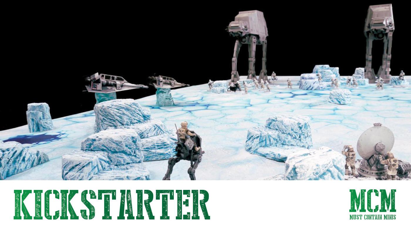 Monster Scenery: Ice Wilds Freezes Over Kickstarter