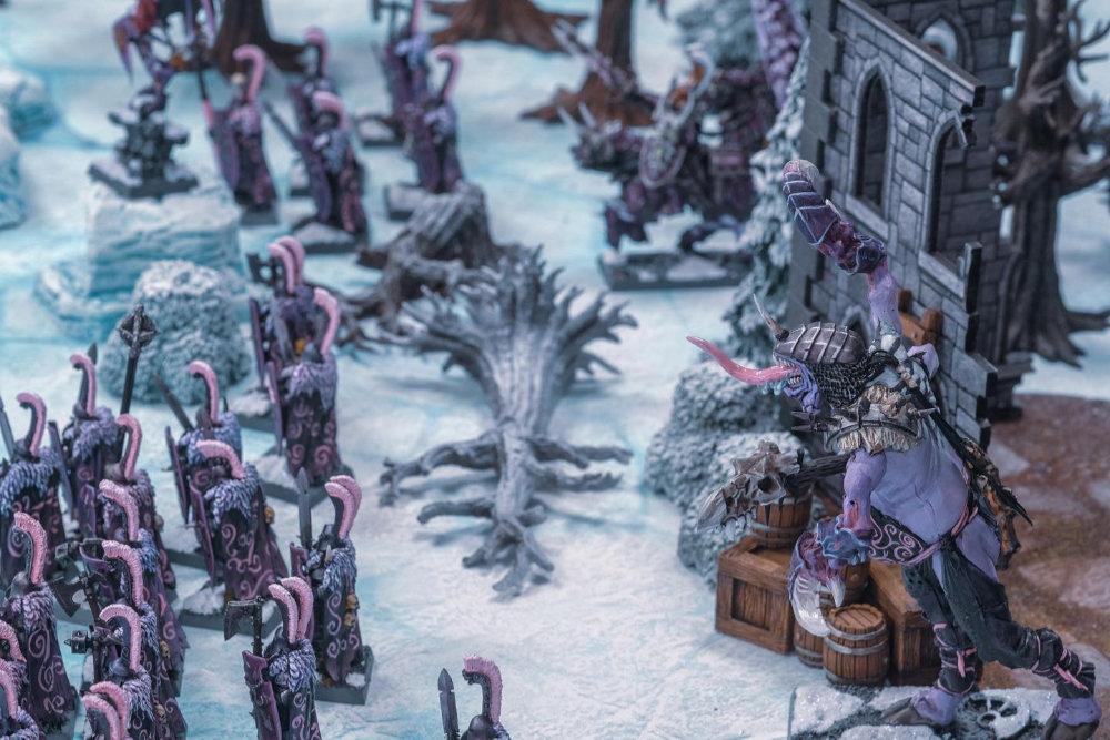 Monster Fight Club Winter Terrain Kickstarter Preview Image